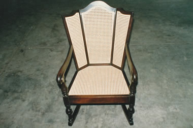 Cane Chair After